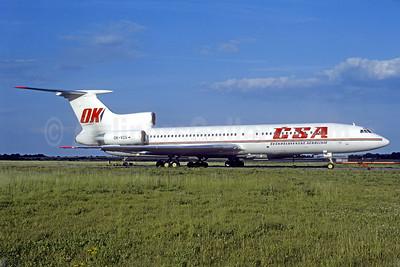 CSA-Ceskoslovenske Aerolinie (Czech Airlines) Tupolev Tu-154M OK-VCG (msn 90A838) PRG (Christian Volpati Collection). Image: 940781.