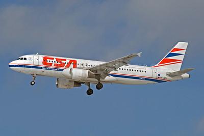 CSA-Czech Airlines Airbus A320-214 OK-MEJ (msn 3097) DME (OSDU). Image: 906528.