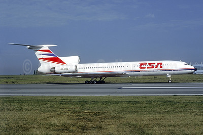 CSA-Czechoslovak Airlines (Czech Airlines) Tu-154M OK-VCG (msn 90A838) PRG (Christian Volpati Collection). Image: 940782.