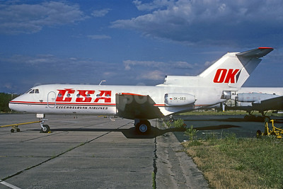 CSA-Czechoslovak Airliners (Czech Airlines) Yakovlev Yak-40K OK-GEO (msn 9641451) PRG (Christian Volpati Collection). Image: 934757.
