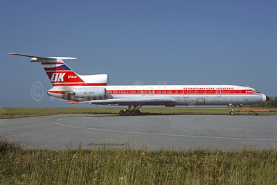Ceskoslovenske Aerolinie-CSA (Czech Airlines) Tupolev Tu-154M OK-TCC (msn 88A789) PRG (Christian Volpati Collection). Image: 911395.