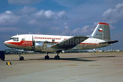 Ceskoslovenske Aerolinie Ilyushin (Avia) Av-14P (Il-14) OK-LCA (msn 703109) ORY (Jacques Guillem). Image: 942431.