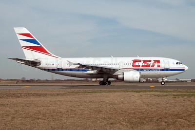 CSA-Czech Airlines Airbus A310-304 OK-WAA (msn 564) JFK (Fred Freketic). Image: 950129.