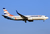Leased from Flydubai on May 4, 2017, hybrid livery