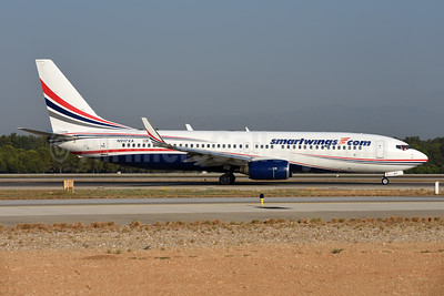 SmartWings (smartwings.com) (Swift Air) Boeing 737-86J WL N917XA (msn 32917) (Swift Air colors) AYT (Ton Jochems). Image: 946422.