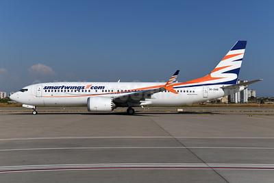 SmartWings (smartwings.com) Boeing 737-8 MAX 8 OK-SWB (msn 43556) AYT (Ton Jochems). Image: 955140.