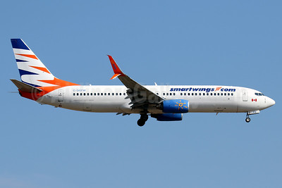 SmartWings (smartwings.com) (Sunwing Airlines) Boeing 737-8BK SSWL C-GOFW (msn 33018) BCN (Javier Rodriguez). Image: 933381.