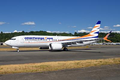 SmartWings (smartwings.com) Boeing 737-8 MAX 8 N6066U (OK-SWE) (msn 64937) BFI (Steve Bailey). Image: 944502.