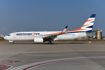 SmartWings (smartwings.com) Boeing 737-8Q8 WL OK-TVG (msn 30719) AYT (Ton Jochems). Image: 955141.