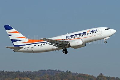 SmartWings (smartwings.com) Boeing 737-7Q8 OK-SWW (msn 28254) AYT (Ton Jochems). Image: 912726.