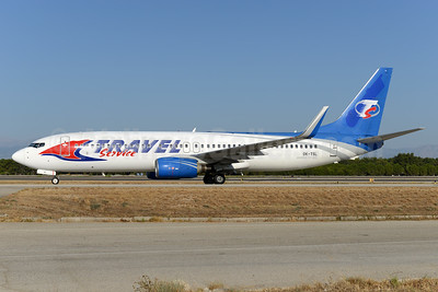 Travel Service Airlines (Czech Republic) Boeing 737-8AS WL OK-TSL (msn 29923) (CanJet colors) AYT (Ton Jochems). Image: 934934.