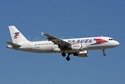 Travel Service Airlines (Czech Republic) (Astraeus Airlines) Airbus A320-211 G-STRP (msn 136) AYT (Andi Hiltl). Image: 906473.