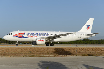 Travel Service Airlines (Czech Republic) (SmartLynx Airlines) Airbus A320-211 YL-LCA (msn 333) AYT (Ton Jochems). Image: 933285.