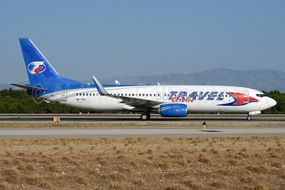 Travel Service Airlines (Czech Republic) Boeing 737-8AS WL OK-TSL (msn 29923) (CanJet colors) AYT (Ton Jochems). Image: 934930.