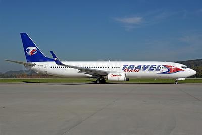 Travel Service Airlines (Czech Republic) Boeing 737-9GJ WL OK-TSM (msn 34952) ZRH (Rolf Wallner). Image: 939609.