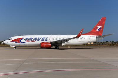 Travel Service Airlines (Czech Republic) (Corendon Airlines) Boeing 737-8BK WL TC-TJP (msn 33022) (Corendon colors) AYT (Ton Jochems). Image: 939819.