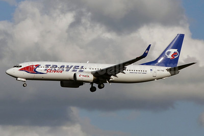 Travel Service Airlines (Czech Republic) Boeing 737-8CX WL OK-TVB (msn 32362) NTE (Paul Bannwarth). Image: 920775.