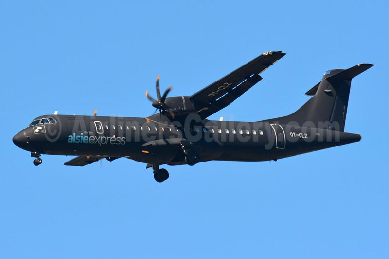 Alsie Express ATR 72-212 OY-CLZ (msn 818) BSL (Paul Bannwarth). Image: 934037.