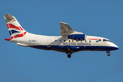 British Airways Sun-Air of Scandinavia Dornier 328-310 (328JET) OY-NCU (msn 3122) MAN (Rob Skinkis). Image: 937767.