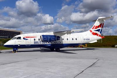 British Airways Sun-Air of Scandinavia Dornier 328-310 (328JET) OY-NCM (msn 3190) BLL (Ton Jochems). Image: 937766.