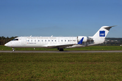 Cimber Air (2nd) Bombardier CRJ200 (CL-600-2B19) OY-MBT (msn 7617) (Flying for Scandinavian Airlines-SAS) ZRH (Rolf Wallner). Image: 907350.