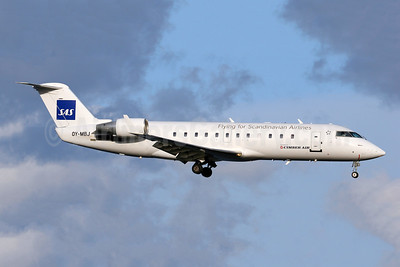 Cimber Air (2nd) Bombardier CRJ200 (CL-600-2B19) OY-MBJ (msn 7442) (Flying for Scandinavian Airlines-SAS) ARN (Stefan Sjogren). Image: 952772.