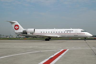 Cimber Air (2nd) Bombardier CRJ200 (CL-600-2B19) OY-MBI (msn 7436) BRU (Ton Jochems). Image: 952771.
