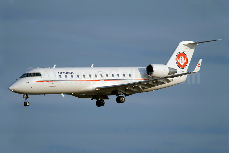 Cimber Air (1st) Bombardier CRJ200 (CL-600-2B19) OY-RJF (msn 7019) ARN (Stefan Sjogren). Image: 907351.