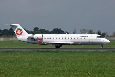 Cimber Air (1st) Bombardier CRJ200 (CL-600-2B19) OY-RJH (msn 7090) DUB (Jay Selman). Image: 403941.