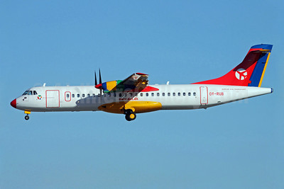 Danish Air Transport-DAT ATR 72-202 OY-RUB (msn 301) ARN (Stefan SJogren). Image: 902882.