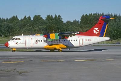 Danish Air Transport-DAT ATR 42-300 OY-CIU (msn 112) (Jacques Guillem Collection). Image: 941942.