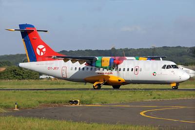 Danish Air Transport-DAT ATR 42-300 OY-JRY (msn 063) SEN (Keith Burton). Image: 928809.