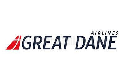 1. Great Dane Airlines logo