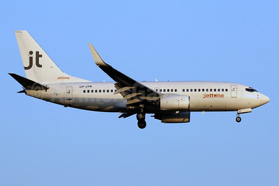 Jettime Boeing 737-73A WL OY-JTR (msn 28497) PMI (Javier Rodriguez). Image: 941865.