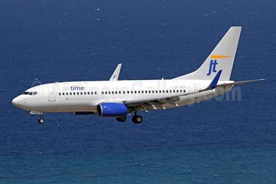 Jettime Boeing 737-7Q8 WL OY-JTY (msn 30727) RHO (Andi Hiltl). Image: 947670.