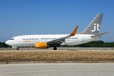 Jettime Boeing 737-7L9 WL OY-JTV (msn 28015) AYT (Ton Jochems). Image: 913934.