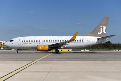 Jettime Boeing 737-3L9 WL OY-JTE (msn 27834) FAO (Ton Jochems). Image: 941863.