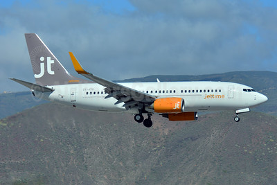 Jettime Boeing 737-7L9 OY-JTU (msn 28010) TFS (Paul Bannwarth). Image: 926708.