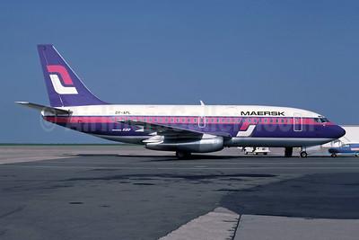 Maersk Air (Denmark) Boeing 737-2L9 OY-APL (msn 22070) (Supair colors) JER (Richard Vandervord). Image: 948942.