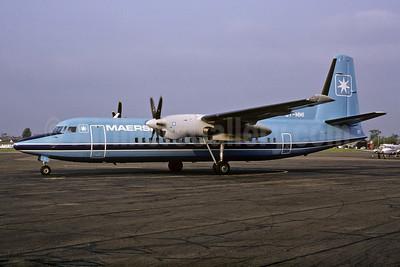 Maersk Air (Denmark) Fokker F. 27 Mk. 050 OY-MMI (msn 20126) (Richard Vandervord). Image: 932684.