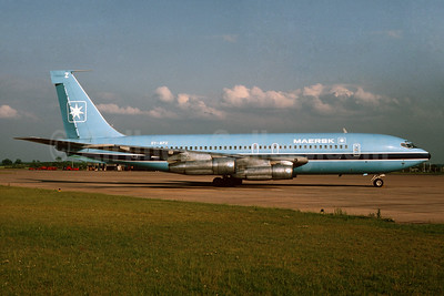 Maersk Air (Denmark) Boeing 720-051B OY-APZ (msn 18364) (Bruce Drum Collection). Image: 932683.
