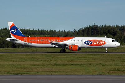 MyTravel Airways (Scandinavia) Airbus A321-211 OY-VKE (msn 1887) ARN (Ton Jochems). Image: 953608.