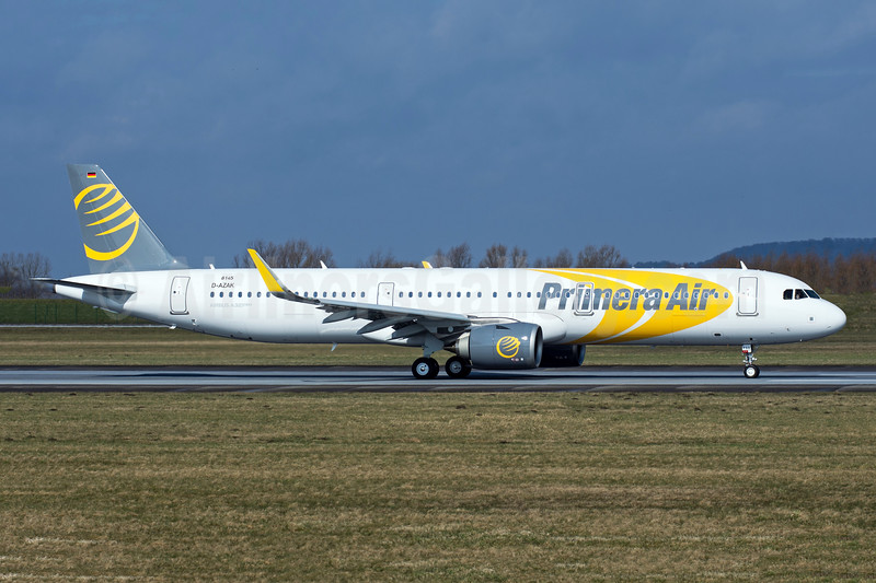 Primera's first Airbus A321neo, delivered on April 16, 2018