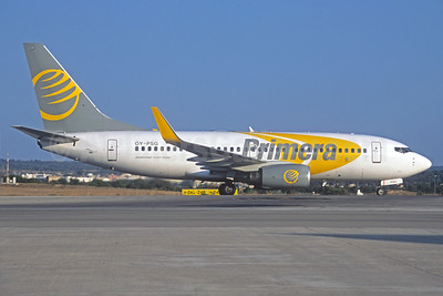 Primera Air (Scandinavia) Boeing 737-7BX WL OY-PSG (msn 30743) PMI (Jacques Guillem Collection). Image: 926692.