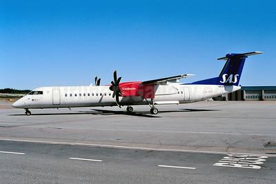 Scandinavian Commuter-SAS Bombardier DHC-8-402 (Q400) LN-RDP (msn 4012) ARN (Ton Jochems). Image: 953502.