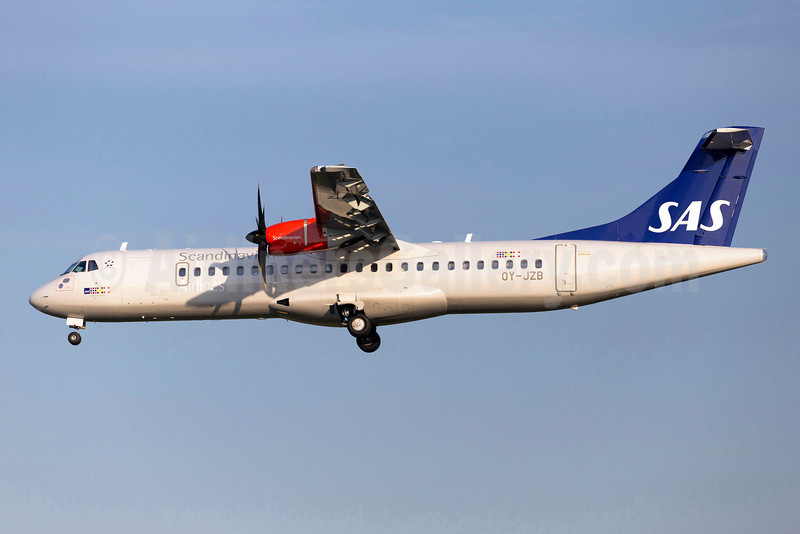 Scandinavian Airlines-SAS (Jettime) ATR 72-212A (ATR 72-600) OY-JZB (msn 1121) ARN (Stefan Sjogren). Image: 922903.