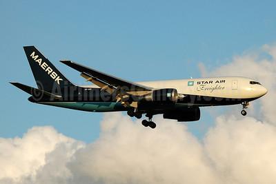 Star Air-Maersk Air Boeing 767-25E (F) OY-SRI (msn 27193) MAN (Nik French). Image: 912418.