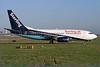 Sterling Airlines (3rd) (Sterling.dk) Boeing 737-7L9 OY-MRJ (msn 28015) (Maersk Air colors) LGW (Antony J. Best). Image: 900139.