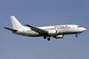 Sterling Airlines (3rd) (Sterling.dk) (Astraeus Airlines) Boeing 737-33A G-STRI (msn 25011) (Flybe underside) PMI (Javier Rodriguez). Image: 925564.