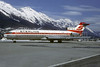 """Sterling Airways (1st) Boeing 727-2J4 OY-SBF (msn 22080) """"Skybus"""" INN (Christian Volpati Collection). Image: 936621."""